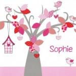 Geboortekaartje Sophie Drent
